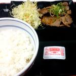 吉野家 - 豚しょうが焼き定食