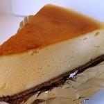 チーズケーキング エフ - ベイクドチーズケーキ345円