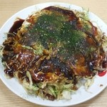 八兵衛 - 定番 肉・玉子・そば入 (700円)