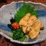 京華 - ホヤ酢500円