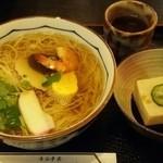 37797670 - にゅうめん&ごま豆腐セット