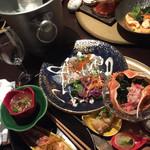 魚家 - 大皿は平目