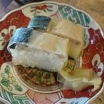 そば切り 蔦屋 - 鯖押寿司