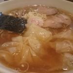 37799469 - ワンタン麺950円(麺半分-50円)