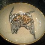 ちゃんぷる~ - 小皿は、壷屋焼