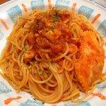 カプリチョーザ - 【渡り蟹のトマトクリームソース】♪2010/4