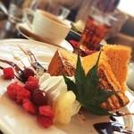穀菜健美 cafe - 野菜のシフォンケーキ
