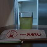 矢場とん - お茶は緑茶