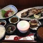 浜舟 - 日曜ランチの定食¥1600