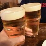 37803150 - まずはビールで乾杯♪