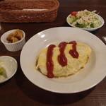 エムケーカフェ&ものくらす - オムライス(ランチ)