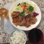 37804520 - 生姜焼き定食700円