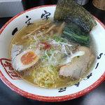 函館麺や 一文字 - 塩らーめん
