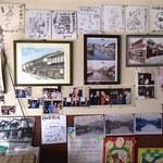 持田醤油店 - 有名人???のサインが沢山飾ってあります