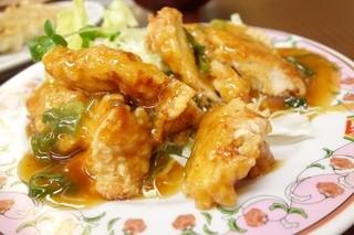 餃子の王将 - 2014年6月 鶏肉の香味揚げ【518円】ふむ…
