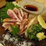 炭焼笑店 陽 - 大和肉鶏たたき