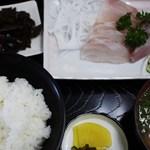 マルト食堂 - 刺身定食 1,050円=15年5月