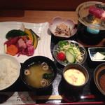 おせそ - 水晶焼き定食(ランチ)