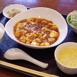 楽山 - ランチ麻婆豆腐
