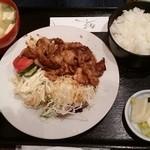 創作キッチン 司 - 豚バラ肉の焼肉膳
