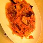 食彩工房 メルカート - ツナと茄子のトマトスパゲッティ 920円