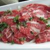肉の有働 - 料理写真:マリネ風馬刺し