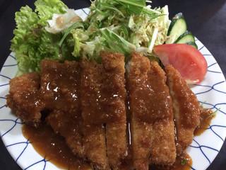 昭和園 - 信州味噌を使った味噌カツ