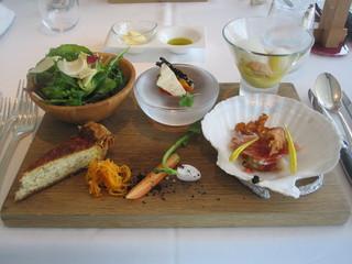 ルニコアオーミナミ - 2800円のコースの前菜