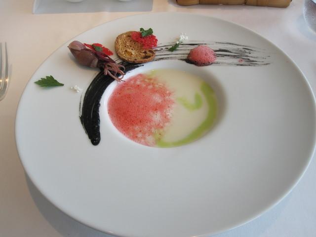 ルニコアオーミナミ - アスパラのスープ