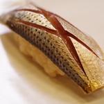 鮨一新 - 料理写真:小鰭