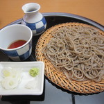蕎麦 ひびき庵 - 「粗びきせいろ」