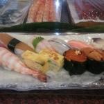 寿司華 - ある日のお任せ握り。