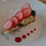 COGO - 苺とカスタードのタルト