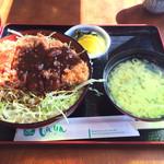 和風レストラン しんりん - わらじソースカツ丼