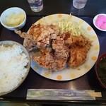 37817602 - 鶏の唐揚定食