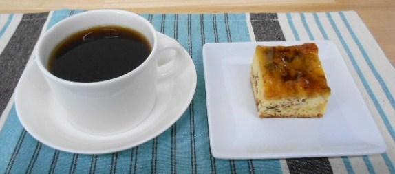 カフェ アロハマイ - アップルケーキセットホットコーヒー(ハワイアンコナコーヒー)