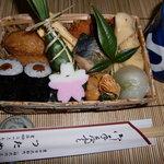 つたや - 歩かまい稲武 中馬弁当 1,000円