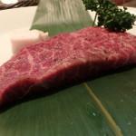 37821877 - 5月から登場した東京でも屈指の予約のとれないレストラン『旬熟成』の発酵熟成肉