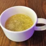3丁目カフェ - お替わり自由のスープ