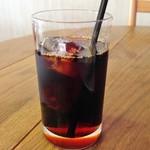 3丁目カフェ - 食後のアイスコーヒー