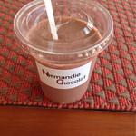 ノルマンディー ショコラ - チョコレートドリンク¥300