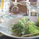 オリオール - ランチセットのサラダ