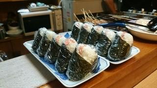静岡おでん 酔ごころ - 鮭のおにぎり
