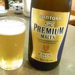 37825685 - 瓶ビールはプレモル¥600~700くらいだったかな?