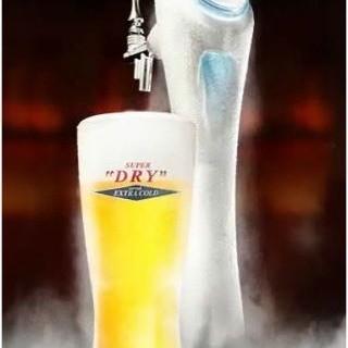 氷点下!マイナス2.3度のエクストラコールドビール