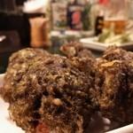 きんぱぎんぱ - もずく天ぷら