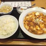 37830257 - ランチ、麻婆豆腐