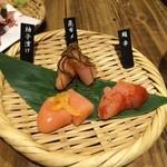 九州 熱中屋 - 明太子食べ比べ
