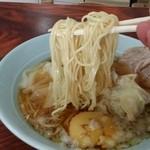 水守食堂 - 麺拡大