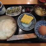 進々堂 - 和風朝ご飯セット 680円